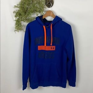 Under Armour Loose Cold Gear Blue Hoodie M 🌿